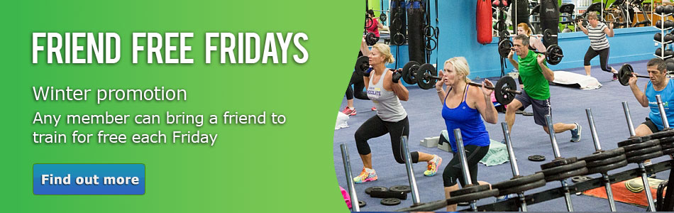 Friend Free Fridays at Just Move this winter